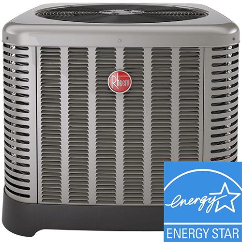 energy star air conditioner ready to be installed in salt lake city